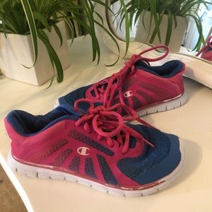 Champion Pink and Blue Sneakers Size 1